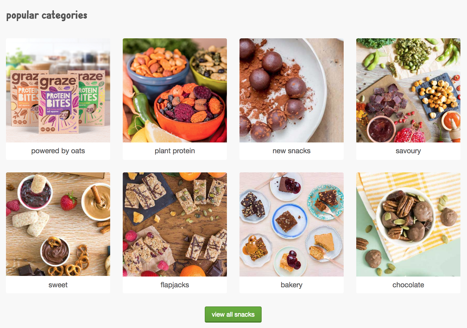 pictures of graze snacks