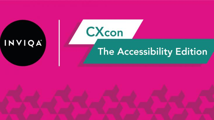 CXcon: The Accessibility Edition logo visual